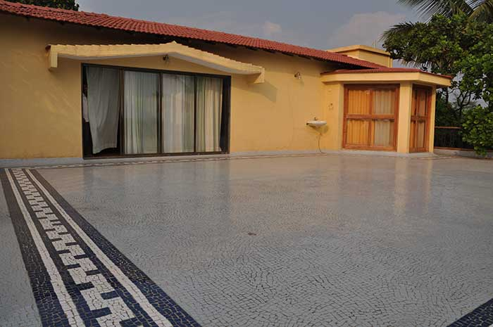 One Among The Oldest Conventional Method Of Waterproofing Flat Roofs Brick Bat Coba Involves Laying Bats On Slab Which Is